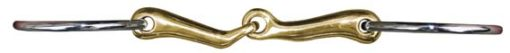 HKM Anatomic Loose Ring Snaffle Bit 18mm with Argentan
