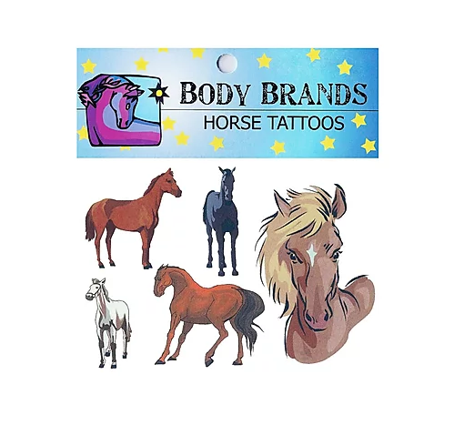 AWST International Horse Tattoos Horse Head