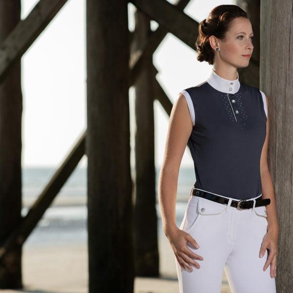 Cavallino Marino Competition shirt -Venezia sleeveless