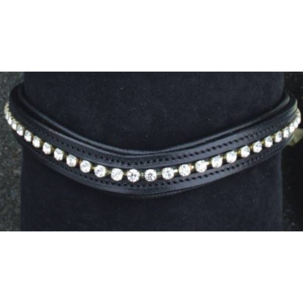 HKM Browband Wave Synthetic Diamonds
