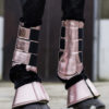 HKM Dressage Protection Boots Metallic
