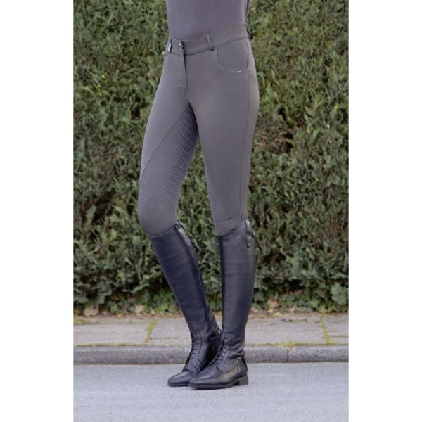 HKM Easy Fit Riding Breeches Silicone Full Seat