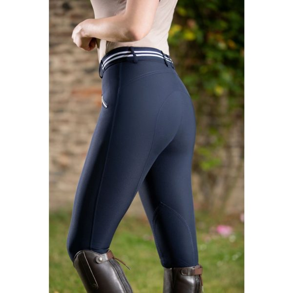 HKM Elemento Riding Breeches Knee Patch