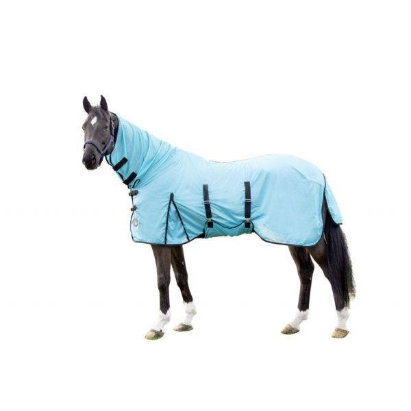 HKM Fly Sheet with Neck Piece Aqua