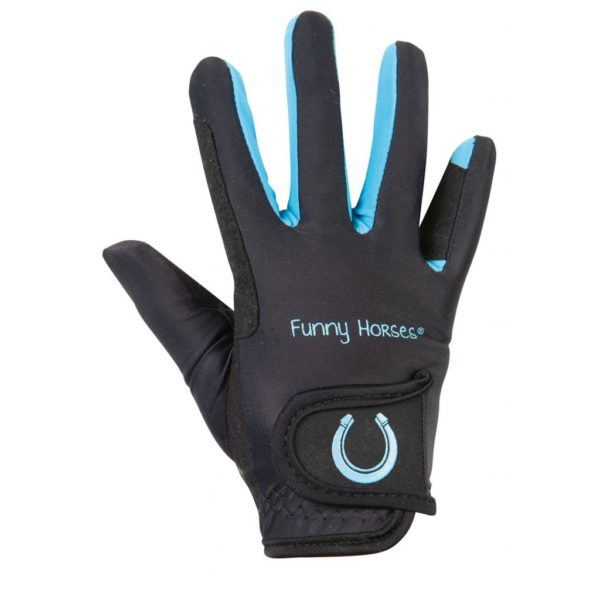 HKM Funny Horses Riding Gloves
