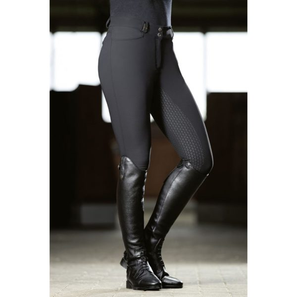 HKM Riding Breeches Silicone Full Seat Active Fit