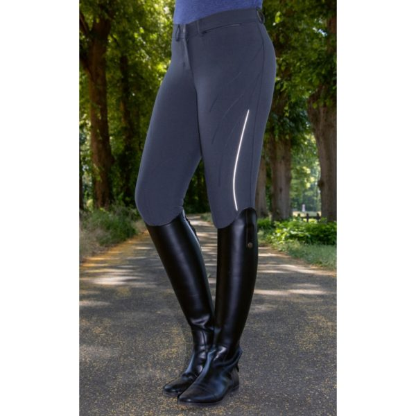 HKM Riding Breeches Speed Reflection Zoe With Knee Patch