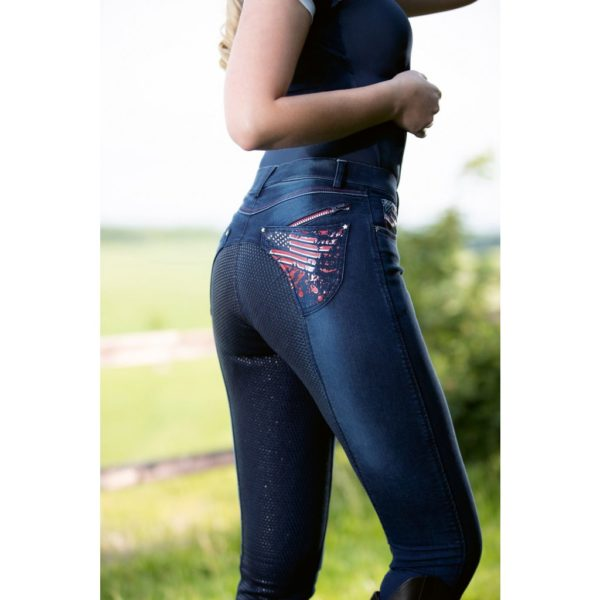 HKM Riding Breeches USA Jeggings