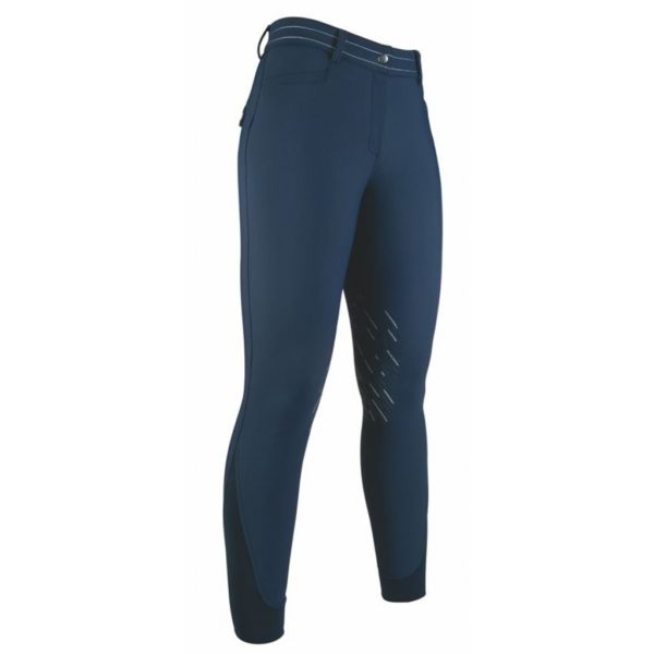 HKM Softshell Riding Breeches Silicone Knee Patch Elegance