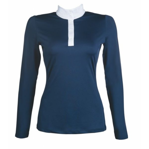 HKM Style Competition Shirt Longsleeve Deep Blue