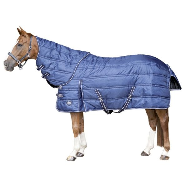 HKM Stable Blanket Innovation With Detachable Neck Cover Horse blankets