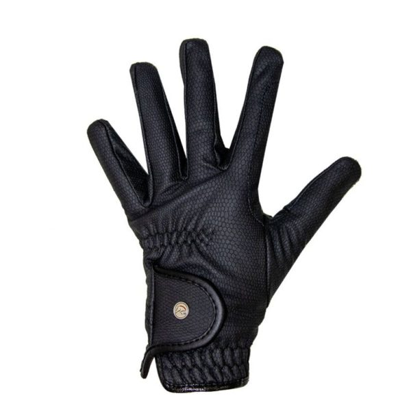 HKM Style Riding Gloves with Fleece Lining Grip