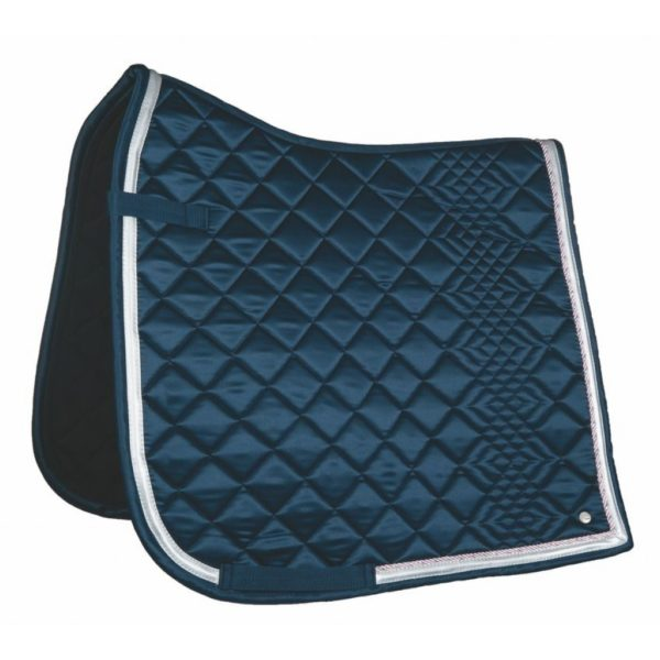 HKM Style Saddle Pad Equilibrio Colare Deep Blue