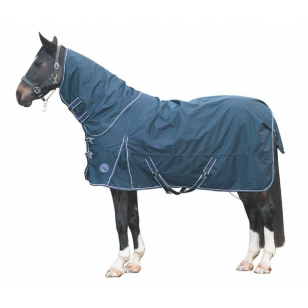 HKM Turnout Blanket Starter 100g, Removable Neck Part