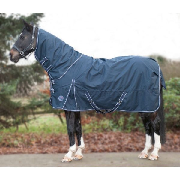 HKM Turnout Blanket Starter Fleece, Removable Neck Part