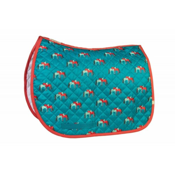LÉTTIA Collection Printed Hugging Horses All Purpose Baby Pad