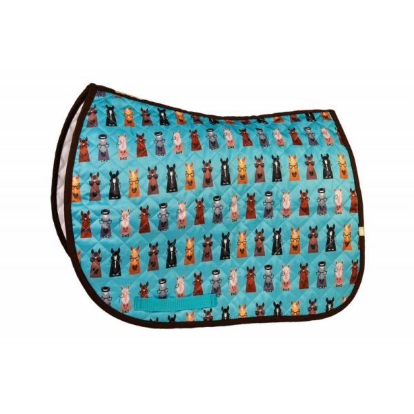 LÉTTIA Collection Printed Hipster Horses All Purpose Baby Pad