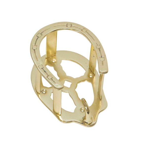 Lami-Cell Malleable Iron Brass Plated Bridle Holder