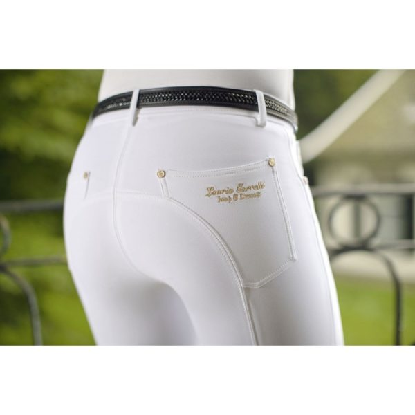 Lauria Garrelli Riding Breeches Knee Patch