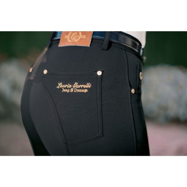 Lauria Garrelli Riding Breeches Silicone Knee Patch