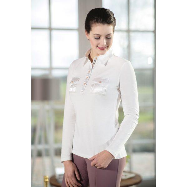 Lauria Garrelli Shirt Blouse Satin Glorenza