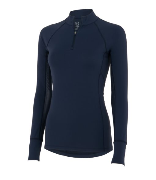 Noble Outfitters Ashley Performance Shirt Long Sleeve Navy
