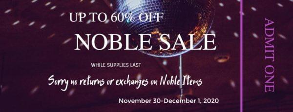 Noble Sale 2020