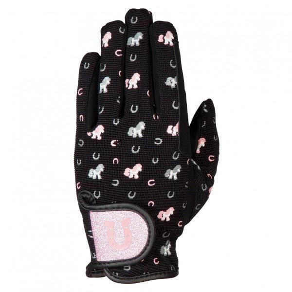 PFIFF Lucky Pony Children's Riding Gloves