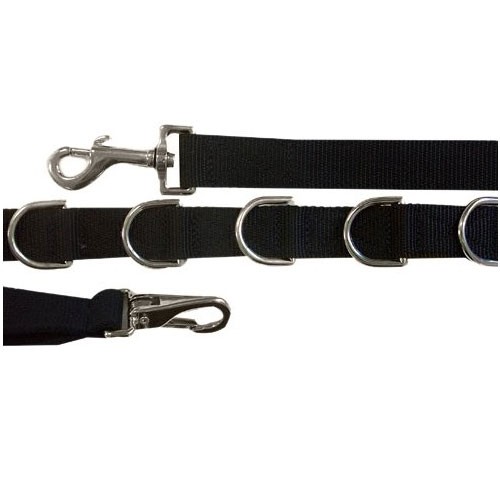 Quality Horse Products Nylon Side Reins with Elastic