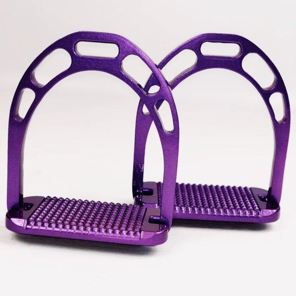 Ritzy Eq UltraViolet Stirrup Irons