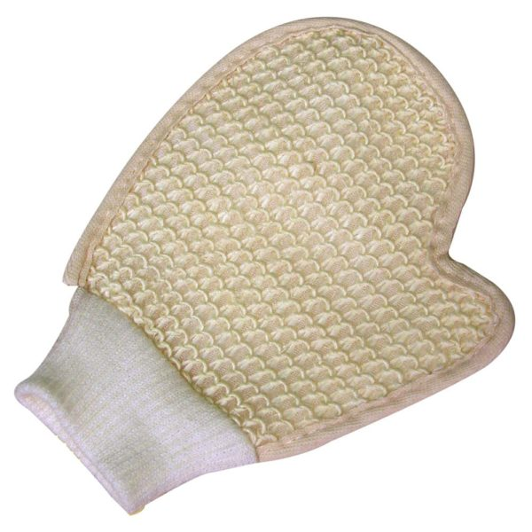 Sisal Grooming Mitt with Cuff