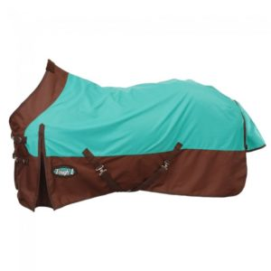 Tough-1 1200D Waterproof Horse Sheet Turquoise Brown