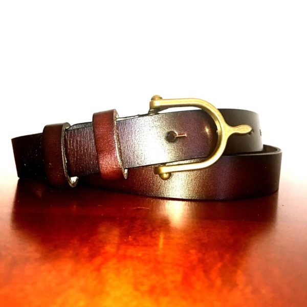 WOW Leather Belt with Spur