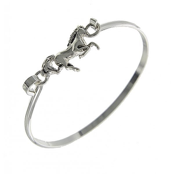 AWST International Galloping Horse Bangle Bracelet